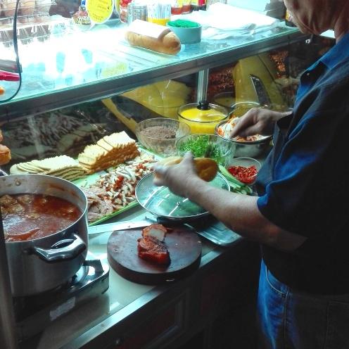 Banh Mi Verkäufer Phu Quoc